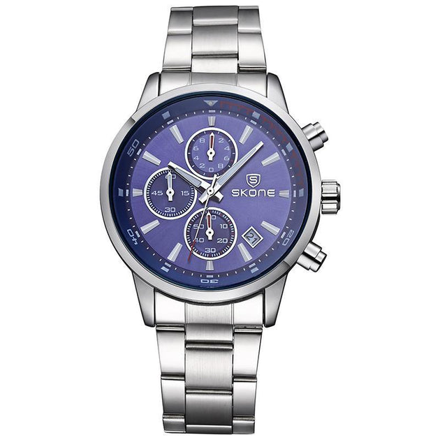 3 Dial Multifunction Watch - TrendSettingFashions