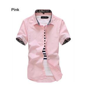 Men's Casual Short Sleeve Shirt - TrendSettingFashions