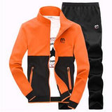 Men's 2 Peice Tracksuit-Coat and Pants Set - TrendSettingFashions