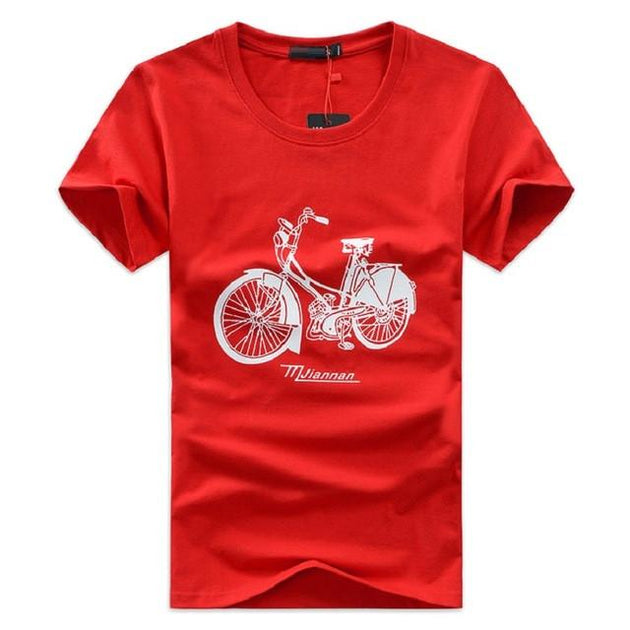 Men's Vintage Bike Tee Up To 5XL - TrendSettingFashions