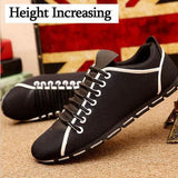 Men's Lace Up Loafers - TrendSettingFashions