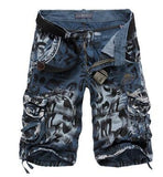 Men's Print Camouflage Shorts - TrendSettingFashions