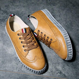 Men's Brogue Casual Lace Up's - TrendSettingFashions