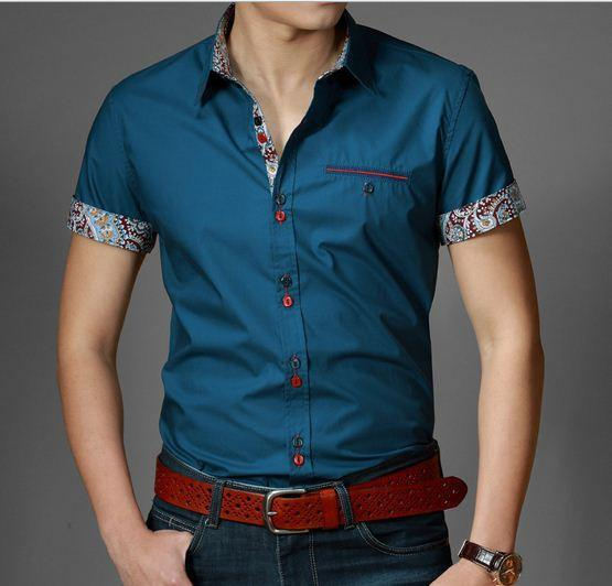 Men's Casual Fit Dress Shirt - TrendSettingFashions