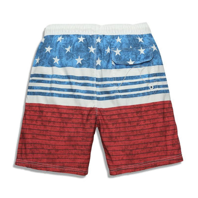Men's Stars And Stripes Board Shorts - TrendSettingFashions