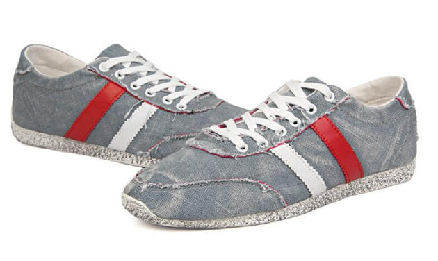 Men's Fashion Canvas Retro Low Tops - TrendSettingFashions