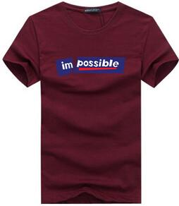 Nothing Is impossible Tee - TrendSettingFashions