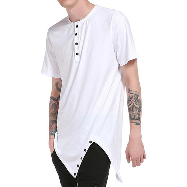 Men's Summer Hem Tee - TrendSettingFashions