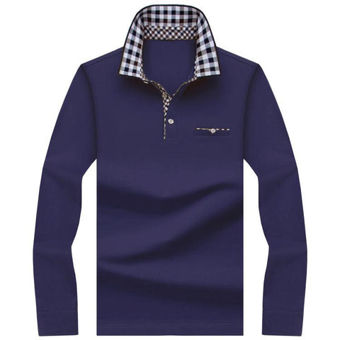Men's Long Sleeve Polo Up To Size 10XL