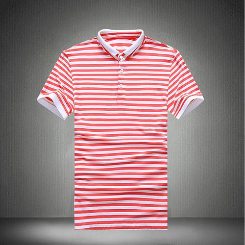 Men's Striped Polo Up To 5XL - TrendSettingFashions