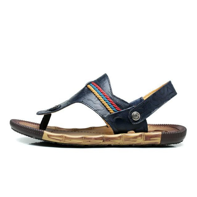 Men's Luxury Leather Sandals Up To Size 12 - TrendSettingFashions