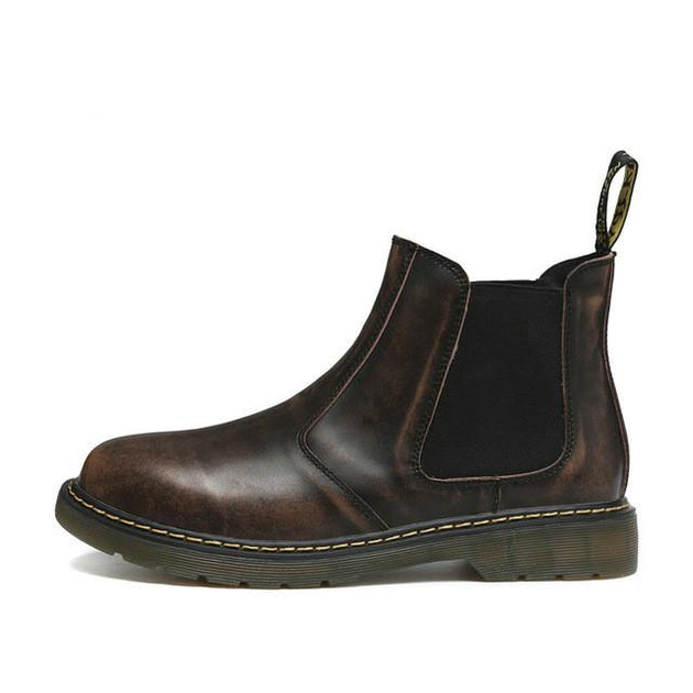 Men's Slip On Ankle Boots Up To Size 12