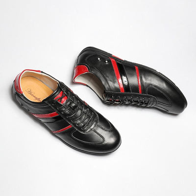 Men's Genuine Leather Fashion Shoes Up To Size 12.5