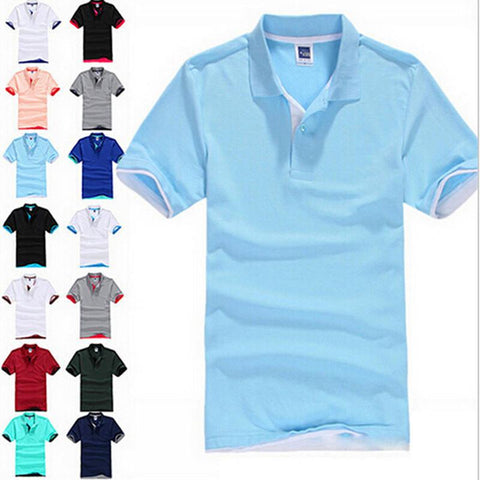 Men's Polo With 12 Colors