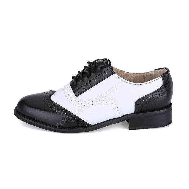 Men's British Style Oxford Shoes In 2 Colors Up To Size 12 - TrendSettingFashions