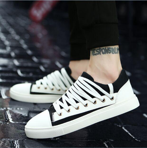 Men's Bevel Edge Lace Up's - TrendSettingFashions
