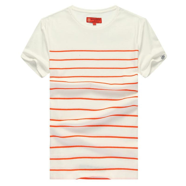Men's Striped Tee In Multi Design And Color Options - TrendSettingFashions