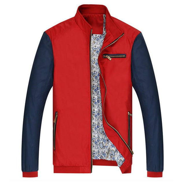 Men's Zipper Pocket Design Jacket - TrendSettingFashions