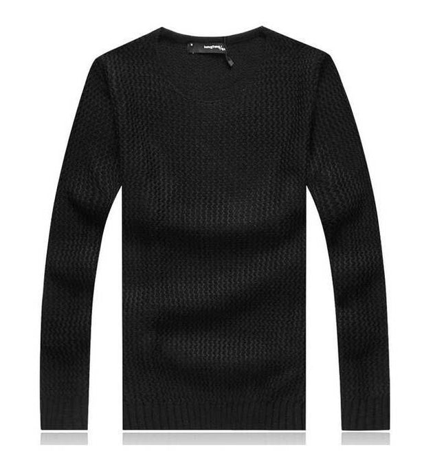 Men's Thick Cotton Pullover Up To 5XL - TrendSettingFashions