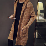 Men's Long Cardigan Sweater - TrendSettingFashions   - 1