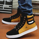 Men's Leisure Front Lace Up Boots - TrendSettingFashions