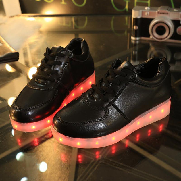 Kids Low Top Led Shoes - TrendSettingFashions