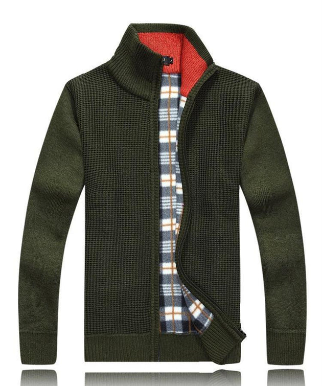 Men's Wool Zip Up - TrendSettingFashions
