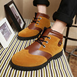 Men's Vintage Style High Top Lace Ups - TrendSettingFashions