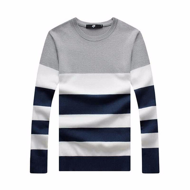 Men's Casual Pullover Sweater - TrendSettingFashions