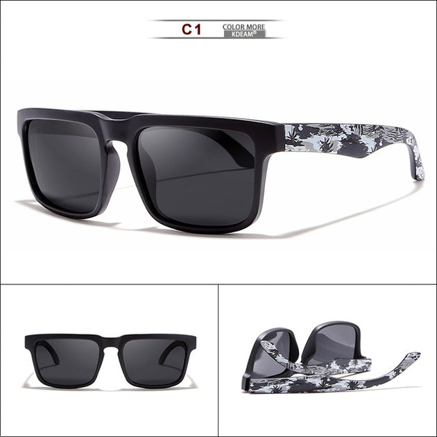 Men's Camouflage Framed Polarized Sunglasses - TrendSettingFashions