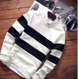 Men's Double Stripe Pullover - TrendSettingFashions