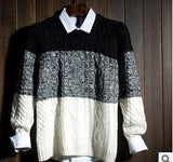 Men's Thick Recreational Sweater - TrendSettingFashions