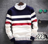 Men's 2 Collar Sweater - TrendSettingFashions
