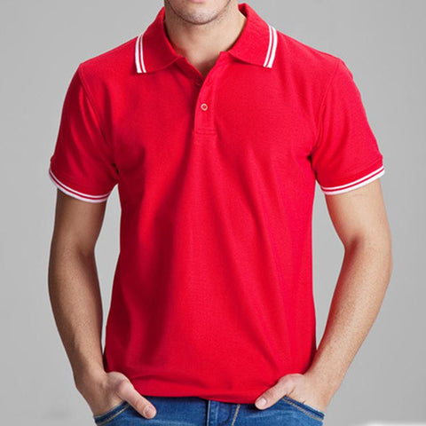 Men's Solid Colored Polo In 15 colors
