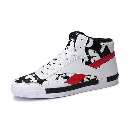Men's High Top High Fashion Lace Ups In 3 Colors - TrendSettingFashions