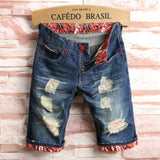 Men's Fashion Knee Length Summer Jeans Shorts Up To Size 44 - TrendSettingFashions