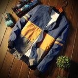 Men's Patchwork Jacket - TrendSettingFashions