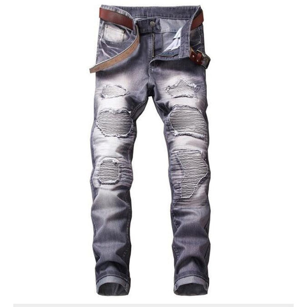 Men's Straight Colored Jeans - TrendSettingFashions