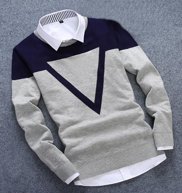 Men's Casual Pullover - TrendSettingFashions