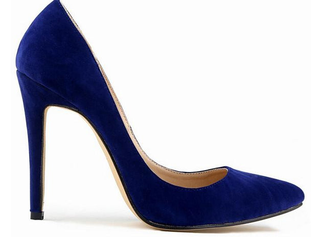 Women's Vintage Flock Pointed Toe Design Platform Shoes In 10 Designs! - TrendSettingFashions