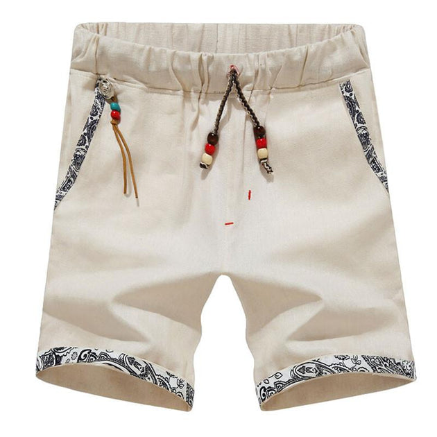Men's Beaded Beach Shorts - TrendSettingFashions