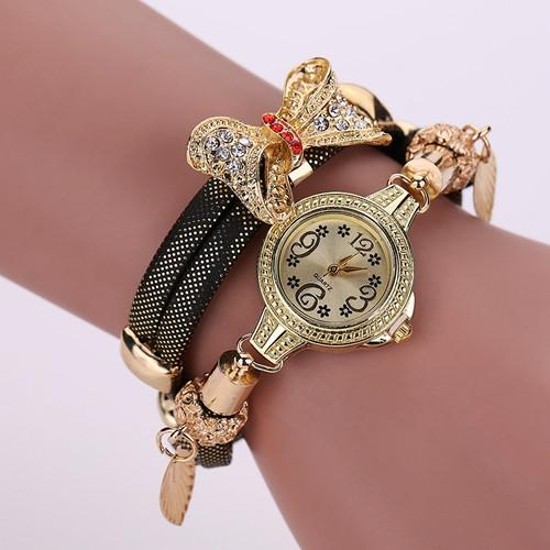 Women's Bow Tie Fashion Watch In 7 Colors! - TrendSettingFashions   - 3