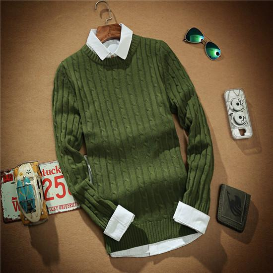 Men's Cashmere Wool Sweater - TrendSettingFashions