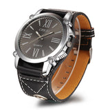 Men Wide Band Watch - TrendSettingFashions