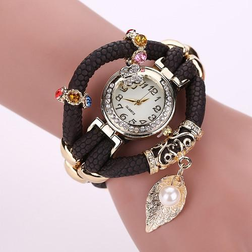 Women's Feather Wide Fashion Watch In 5 Colors! - TrendSettingFashions