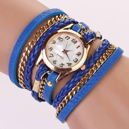 Hot Vintage Women's Bracelet Watch With 11 Colors! - TrendSettingFashions   - 7