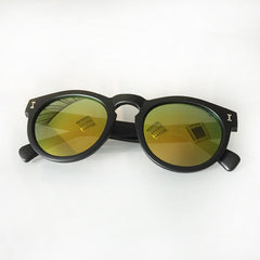 Vintage Round Sunglasses With 10 Color Options - TrendSettingFashions   - 8