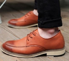 Men's Winter Padded Dress Shoes 4 Color Options - TrendSettingFashions   - 6