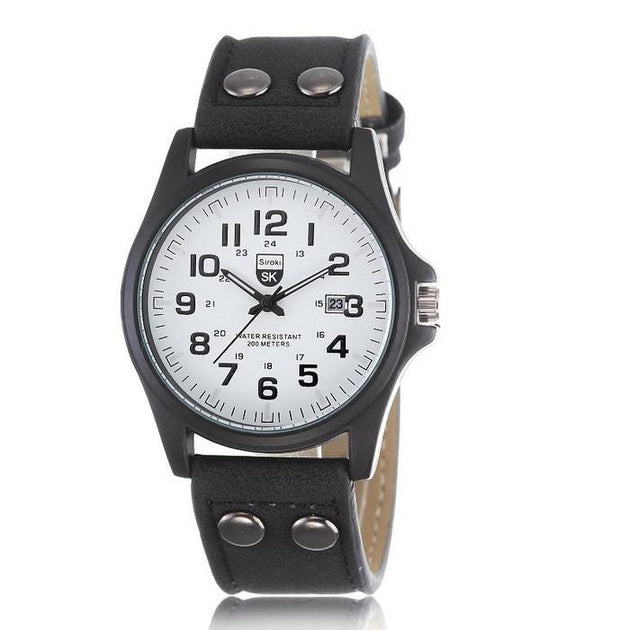 Army Style Men's Watch - TrendSettingFashions