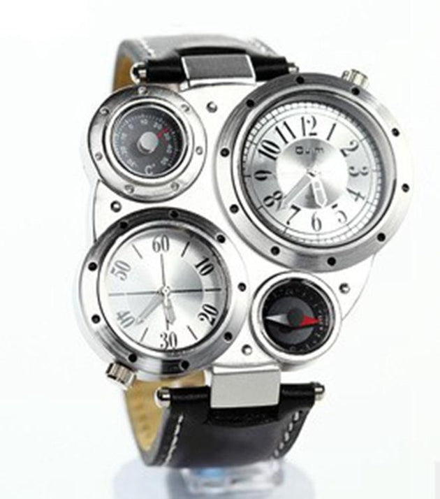 Men's Multi-Function, Multi-Dial Watch - TrendSettingFashions
